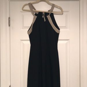 EUC The Limited Halter Maxi Dress - Size Medium